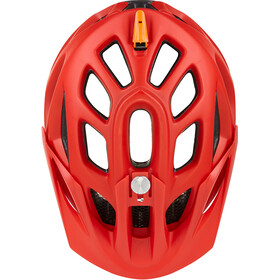 KED Trailon Kask rowerowy, red yellow matt